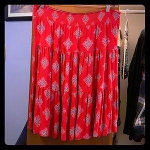 St. John's Bay Midi Skirt